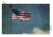 Flag - Still Standing Proud - Luther Fine Art Carry-all Pouch