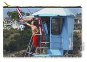 Flag Waving Lifeguard Carry-all Pouch