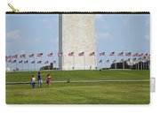 Flags Around Washington Carry-all Pouch