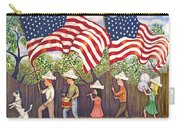 Flags Carry-all Pouch by Linda Mears