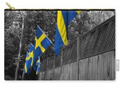 Flags Of Sweden Carry-all Pouch
