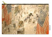 Flags On 57th Street Carry-all Pouch