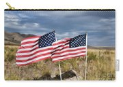 Flags On Antelope Island Carry-all Pouch