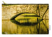 flagstone walking bridge at Freedom Park in Charlotte North Car Carry-all Pouch