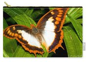 Flame Bordered Charaxes Butterfly Carry-all Pouch