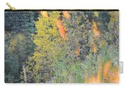 Flame Colored Fall.  Carry-all Pouch