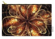 Flame Flower Carry-all Pouch