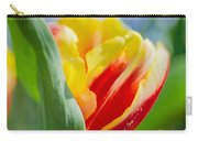 Flame Leaf Tulip Carry-all Pouch