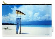 Flamenco Beach And Storm Carry-all Pouch
