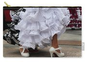 Flamenco Dancer In White Carry-all Pouch