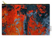 Flames And Grey Carry-all Pouch