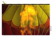 Flames Heating Up Hot Air Balloon Carry-all Pouch