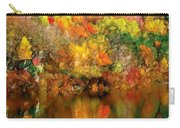 Flaming Autumn Abstract Carry-all Pouch
