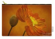 Flaming Beauty Carry-all Pouch by Heiko Koehrer-Wagner