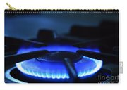 Flaming Blue Gas Stove Burner Carry-all Pouch
