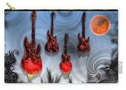 Flaming Guitars Carry-all Pouch