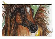 Flaming Horse Carry-all Pouch