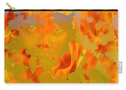 Flaming Indian Girl Sunset Carry-all Pouch