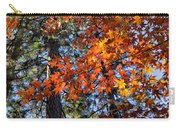 Flaming Maple Beneath The Pines Carry-all Pouch