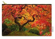 Flaming Maple Carry-all Pouch by Darren  White
