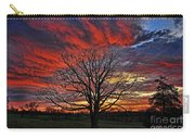 Flaming Oak Sunrise Carry-all Pouch
