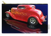 Flaming Roadster Carry-all Pouch by Gill Billington
