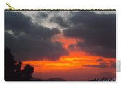 Flaming Sunrise Carry-all Pouch
