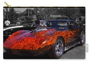 Flaming Vette Carry-all Pouch