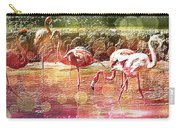 Flamingo Art Carry-all Pouch