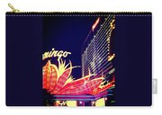 Flamingo At Night Carry-all Pouch
