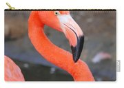 Flamingo Close Up Carry-all Pouch