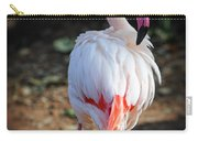 Flamingo In Fuchsia Carry-all Pouch