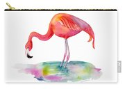 Flamingo Dip Carry-all Pouch