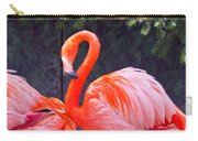 Flamingo In The Wild Carry-all Pouch