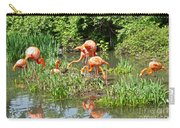 Flamingo Island Carry-all Pouch