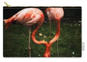 Flamingo Mirrored Carry-all Pouch