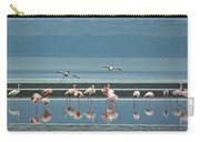 Flamingo On Lake Nakuru Carry-all Pouch