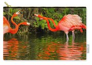 Flamingo Panorama Carry-all Pouch