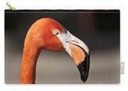 Flamingo Portrait Carry-all Pouch
