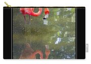 Flamingo Reflected Carry-all Pouch