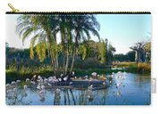 Flamingo Watering Hole Carry-all Pouch