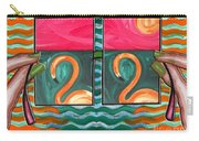 Flamingoes 2 Carry-all Pouch