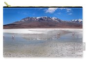Flamingos At The Altiplano In A Salt Lake Carry-all Pouch
