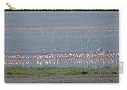 Flamingos On Lake Magadi Carry-all Pouch
