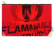 Flammable Liquid Carry-all Pouch