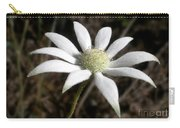 Flannel Flower Carry-all Pouch
