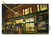 Flannerys Pub Carry-all Pouch by Frozen in Time Fine Art Photography