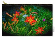 Flashes Of Garden Fire Carry-all Pouch