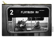 Blues Guitarist Heading To Flatbush  Carry-all Pouch