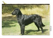 Flat-coated Retriever Dog Carry-all Pouch